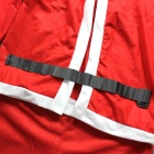 Adult's Santa Claus Role Playing Suit - Red + White (Free Size)