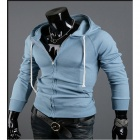 Fashionable Casual Men's Sweater - Blue (Size-L)