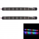 2.4W 384lm 48-SMD 1210 LED blinkt RGB Light Car Tagfahrlicht - (DC 12V / 2 PCS)