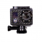 Fat Cat C-CS2 Carbon Fiber Style Protective Case for Gopro Hero2 - Black