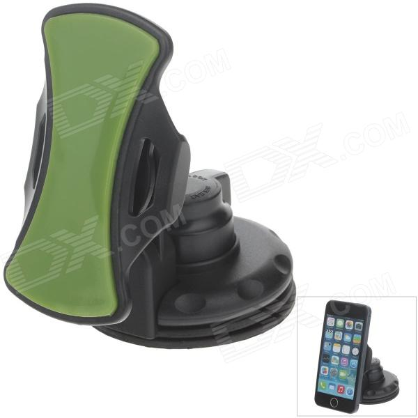 H70 Car Instrument Desk Silicone Holder Mount w/ 2.5~9'' Silicone Back Clip for GPS / PDA / Phone