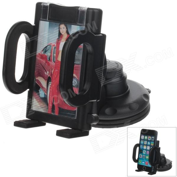 H70 Car Instrument Desk Silicone Holder Mount w/ C38 4.3-5 Back Clip for GPS / PDA / Cell Phone