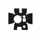 Fat Cat A-CS2 Carbon Fiber Style Sticker for Gopro Hero2 Waterproof Case - Black