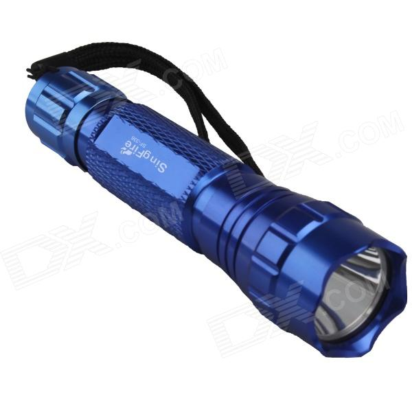 SingFire SF-336 800lm 5-Mode White LED Flashlight w/ Cree XM-L T6 - Blue (1 x 18650)