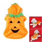 JUQI Pumpkin Style Cotton Clothes for Pet Dog - Orange (S)