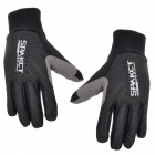 SPAKCT S13G10 Bicycle Cycling Full-finger Gloves - Black (L / Pair)