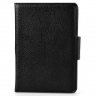 Wireless Bluetooth V3.0 59-Key Keyboard w/ PU Leather Case for Samsung Galaxy Tab 3 P3200 - Black