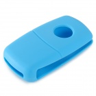GEL-1205 Universal Protective Silicone Car Key Cover for VW Cars - Blue