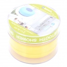Waterproof Bluetooth V3.0+EDR Speaker w/ Silicone Suction Cup for Iphone + More - Yellow + Grey