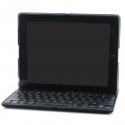 K560 360 Degree Rotatable 78-Keys Bluetooth V3.0 Keyboard PC Case for Ipad 2 / 3 / 4 - Black