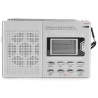"SAYIN SY-6611 1.4"" Screen AM / FM / SW Muti-band ABS Radio - Silver Grey + Black (AA battery)"
