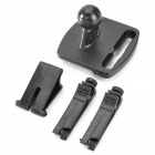 Universal ABS Car Air Outlet Mount Holder for Garmin / Tomtom / Goyou GPS - Black