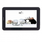 "iRulu 7"" Android 4.0.3 GSM Tablet PC w/ 512MB RAM, 4GB ROM, Bluetooth, Dual-Camera - Black"