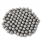6.35mm Outdoor Sports Stainless Steel Beads for Slingshot Game - Silver (85 PCS)