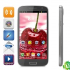 "iNew i7000A Quad-Core Android 4.2 WCDMA Bar Phone w / 5,0 ""HD IPS, GPS und Wi-Fi - Schwarz"