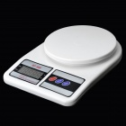 "SF-400 Household Electronic 2.2"" LCD Food Baking Scale - Black + White + Grey (0.1g / 1000g)"