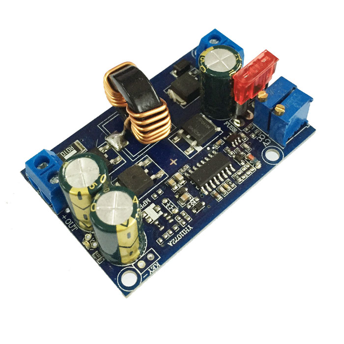 DC-DC Automatic Buck-Boost Constant Voltage Constant Current Module - Blue (5A) for lg constant current board 6917l 0157a is used