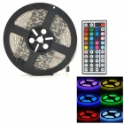 Waterproof 72W 4000lm 300-SMD 5050 LED RGB Car Light Strip w/ Remote Controller (12V / 5m)