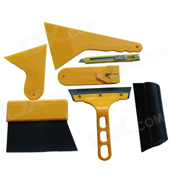 DIY Small Car Cleaning Sets / Film Sticking Tool Squeegees / Scrapers / Sunvisor Film Sticking Tool