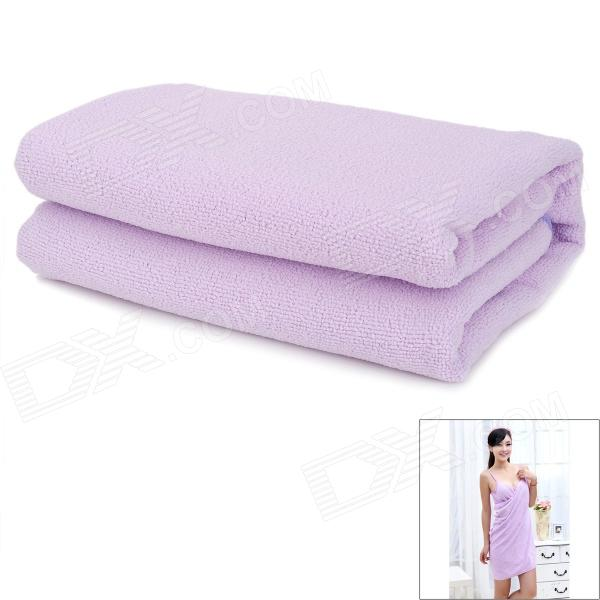 SS-DD2 Creative Magical Dress Style Bathing Towel - Purple