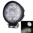 27W 6500K 2160lm 9-Epistar LED Work Light 30 Degree White Light Off-road Lamp (9~32V)