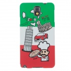 UMKU Italian Customs Protective PC Back Case for Samsung Galaxy Note 3 N9000 - Multicolored