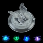 LEH-32020A 1- LED Solar Butterfly Light / Lawn Lamp / Garden Light - White