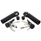 GH78-132 Bike Handlebar Sleeves + Repair Tools Kit - Black