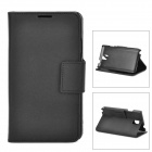 A006-3 Protective PU Leather Case for Samsung Galaxy Note 3 - Black
