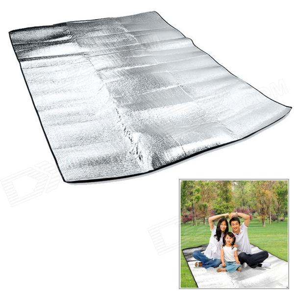 WindTour Outdoor Moisture-Proof Picnic Blanket Camping Mat Pad - Silver aotu at6210 215 x 215cm camping moisture proof mat