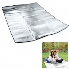 WindTour Outdoor Moisture-Proof Picnic Blanket Camping Mat Pad - Silver