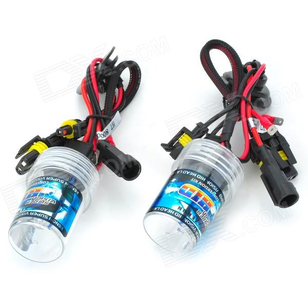 SENCART H7 35W 2800lm 8000K Cambridge Blue Car HID Headlamps (9~16V / Pair) cambridge young learners english flyers 5 answer booklet