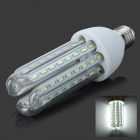 E27 18W 1400lm 6500K 64-SMD 5730 LED White Light Bulb - White (150~265V)
