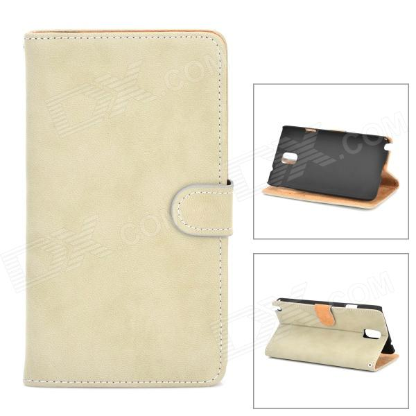 Retro Protective PU Leather Case for Samsung Galaxy Note 3 - Grey pioneer se m285tv