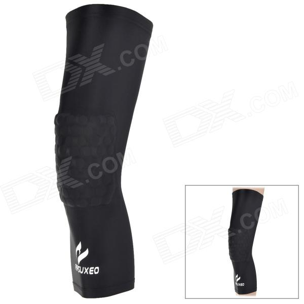 ARSUXEO H001 Sports Lycra + Foam Elbow Guard - Black (Size L)