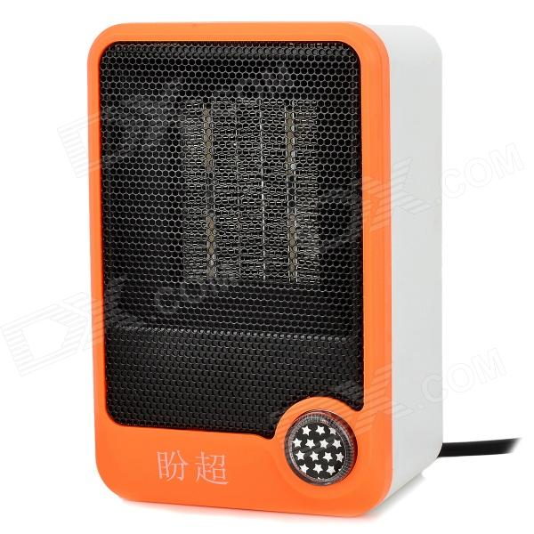 panchao HQS-G106111 Mini Personal Electronic Ceramic Space Heater - Orange + Black + White (220V)