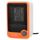 Panchao HQS-G106111 500W Mini Personal Electronic Ceramic Space Heater - Orange (220V)