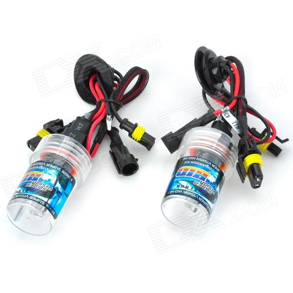 SENCART H8 / H9 / H11 55W 4500lm 4300K Shadow Yellow Car HID Headlamps (9~16V / Pair) stands a shadow