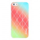 Kuzoom K20B0502 Plaid Scotland Pattern PC Protective Back Case for Iphone 5 - Multicolored