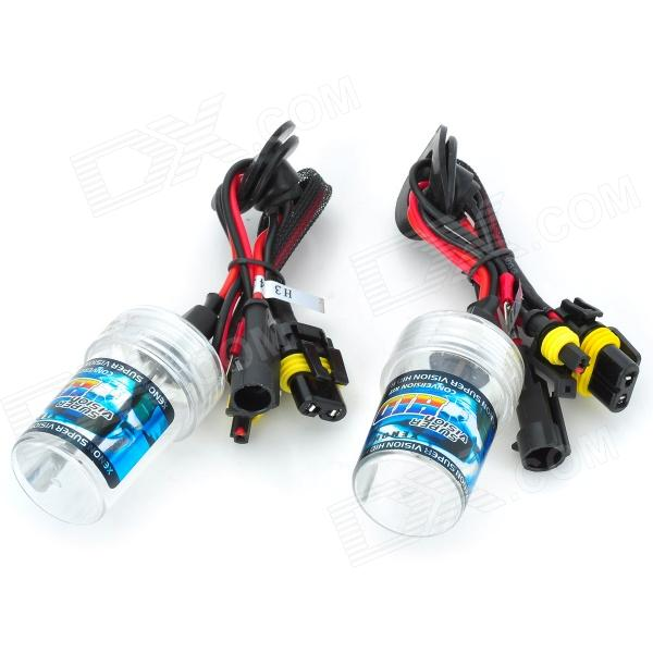 SENCART H3 35W 2800lm 4300K Shadow Yellow Car HID Headlamps (18~32V / Pair) stands a shadow