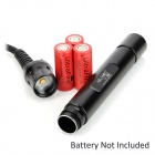 ARCHON DH30 3000lm 3-Mode White Diving Flashlight w/ 3 x CREE XM-L U2 - Black (3 x 26650)