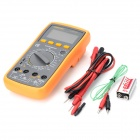 LODESTAR LD9805A Digital Multimeter w/ Buzzer - Black + Yellow