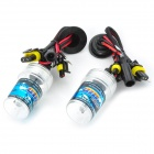 SENCART 881 / 880 55W 4500lm 4300K Shadow Yellow Car HID Headlamps (9~16V / Pair)
