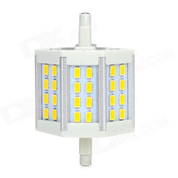 ZnDiy-BRY R7S 6W 300lm 3000K 24-SMD 5630 LED Warm White Spotlight - White + Yellow (220V) катушка lucky john anira spin 7 3000 fd