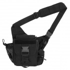 Free Soldier Sports Oxford Cloth Waist / Messenger Bag - Black