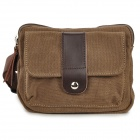 MLF MLF1015 Männer Komfortable Durable Canvas Gürteltasche - Coffee