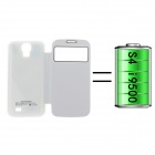 External Back Case 2400mAh Polymer Battery for Samsung Galaxy S4 i9500 - White