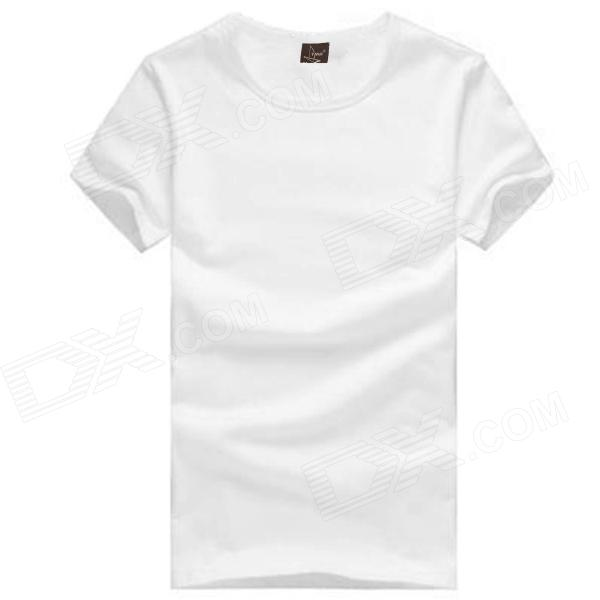 Plain White Cotton Shirt | Is Shirt