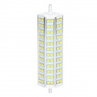 ZnDiy-BRY R7S-15W R7S 15W 850lm 3500K 72-SMD 5050 LED Warm White Spotlight - Yellow + White (220V)