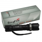 SingFire SF-96 200lm 3-Mode Zoomable Policía Linterna antorcha w / Cree XR-E Q5 - Negro (1 x 18650)